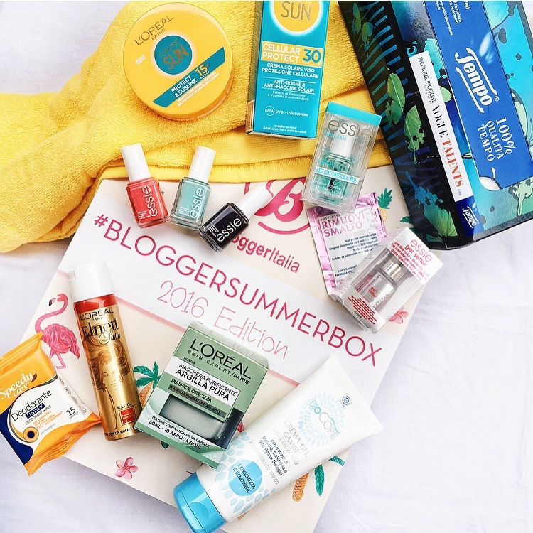 Estate 2016 con la BloggerSummerBox